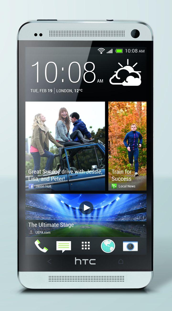HTC One prata Frente Master Photo safra