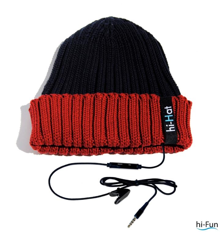 hallo-Hut rot-schwarz