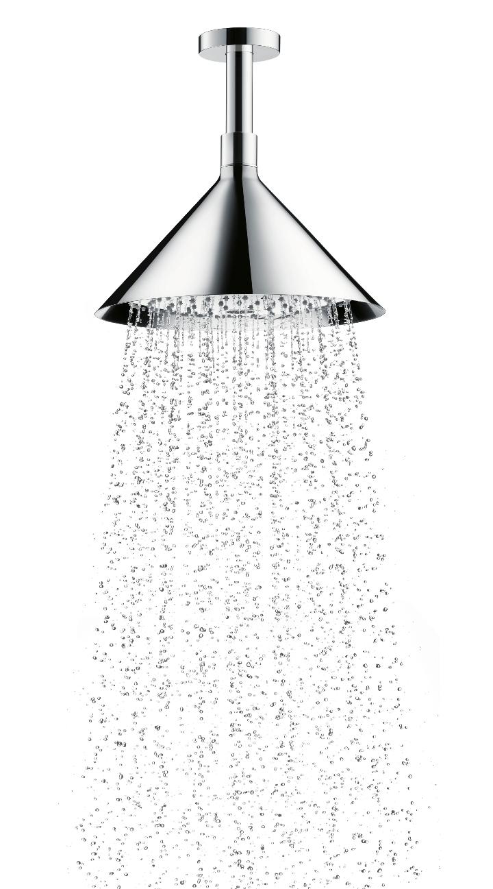 Axor ShowerProducts par plafond avant douche chromé