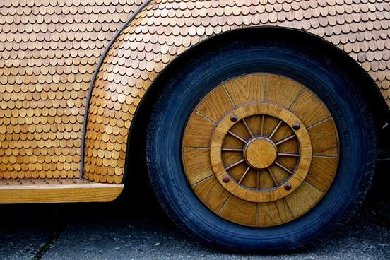 Ξύλινο-Volkswagen Beetle--005