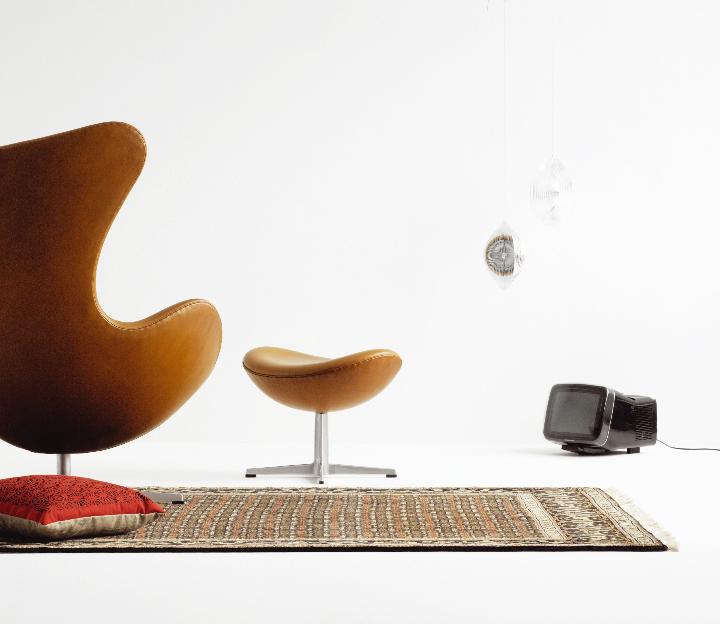silla de huevo de Arne Jacobsen Revista Social Design