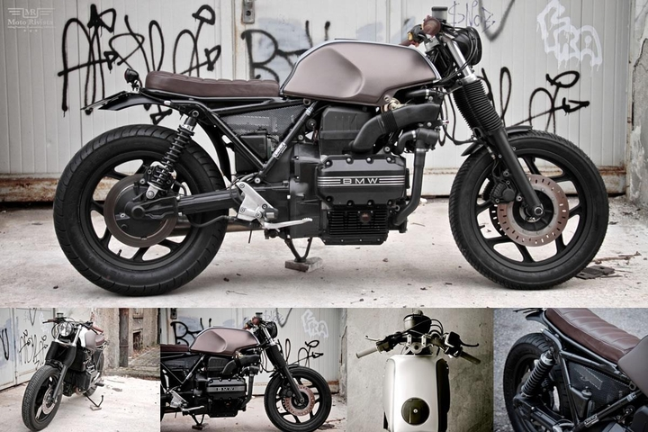 Custom BMW K 75 street tracker by Moto Sumisura social design magazine
