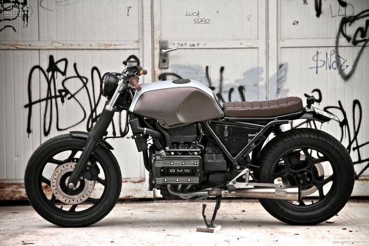 Custom BMW K 75 street tracker by Moto Sumisura social design magazine 05