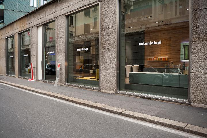 Showroom antoniolupi Mailand