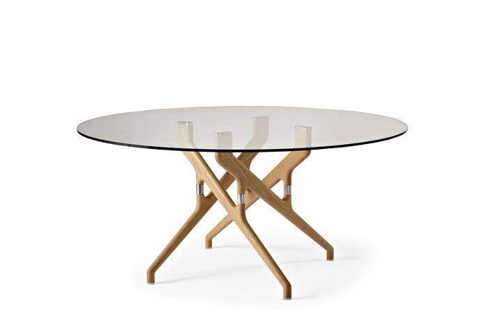 Potocco Torso table social design magazine