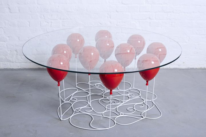 duffy london επάνω μπαλόνι τραπέζι καφέ γύρο έκδοση 03
