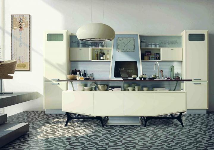 Marchi Group presenta la cucina Saint Louis: linee attuali e ...