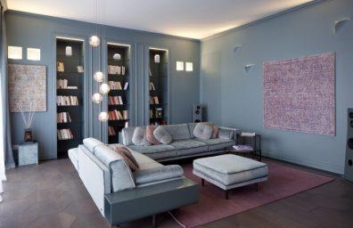 Σχεδιασμός εσωτερικού χώρου Atelier Durini 15 Andrea Castrignano, Buzzi & Buzzi φωτισμός