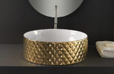 THE.ARTCERAM Rombo χρυσό