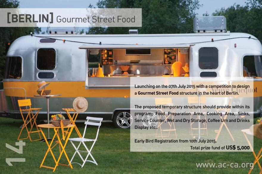 [ΒΕΡΟΛΙΝΟ] Gourmet Food Street, αρχιτεκτονικό διαγωνισμό