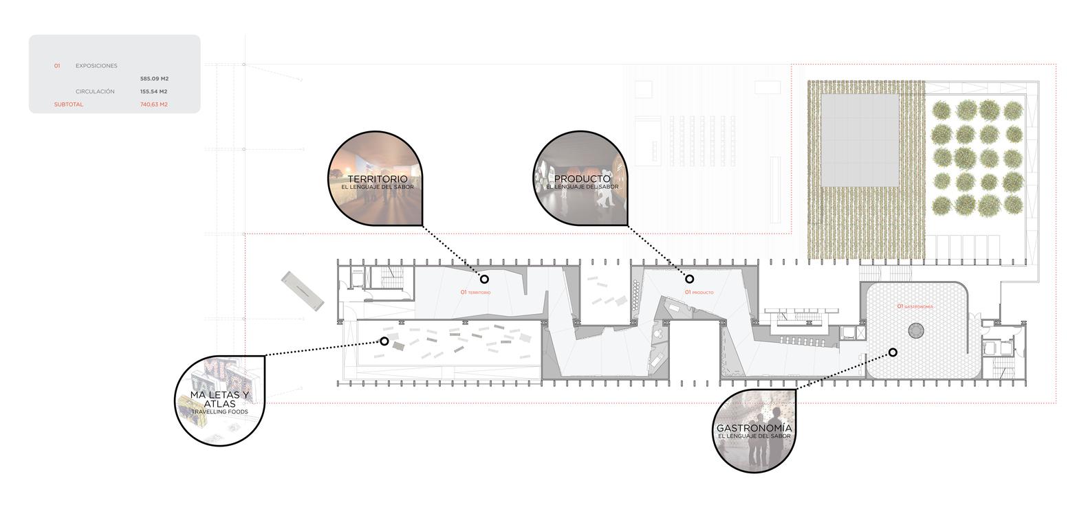 Spanien Pavillon auf der Expo Milano 2015