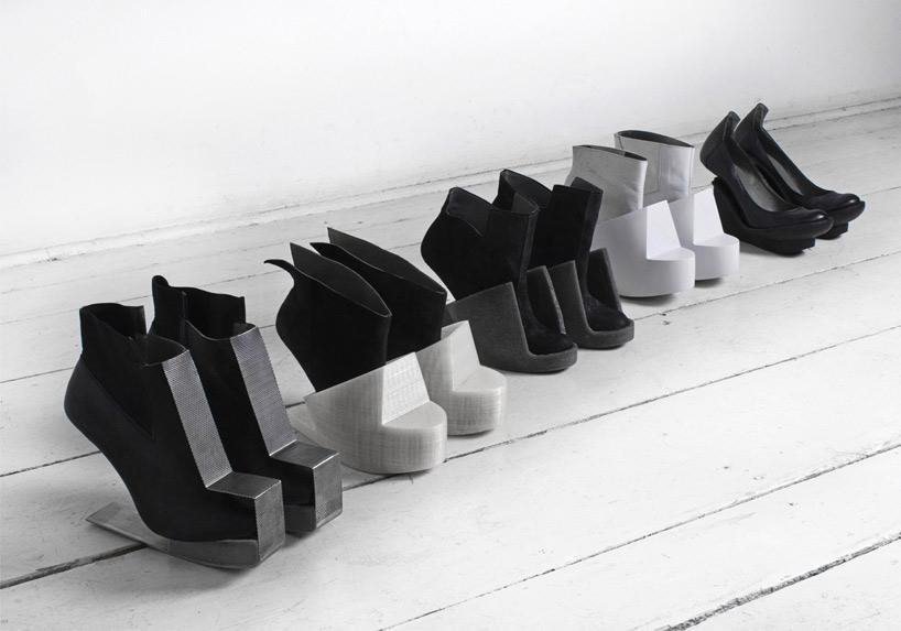 women's shoes conceptual Iga Węglińska