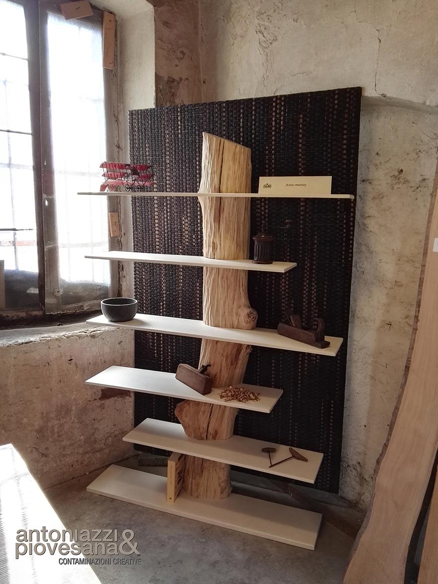 Bibliothèque de Trunk, concevoir Roberto Corazza