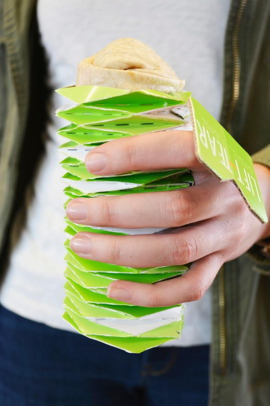 ο σχεδιασμός της συσκευασίας Burrito 02
