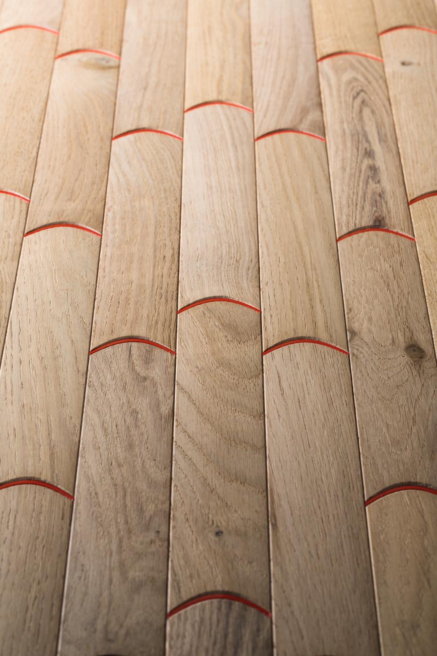 Τα πατώματα σκληρού ξύλου Listone Giordano μπισκότο n7 λεπτομέρεια