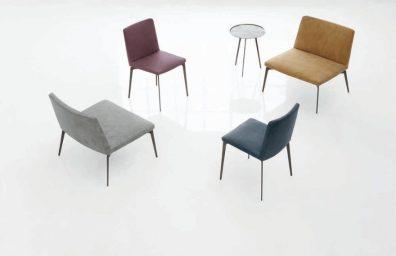 Trend interior design of Alivar Fall / Winter 2015 / 2016, chairs and armchairs Flexa