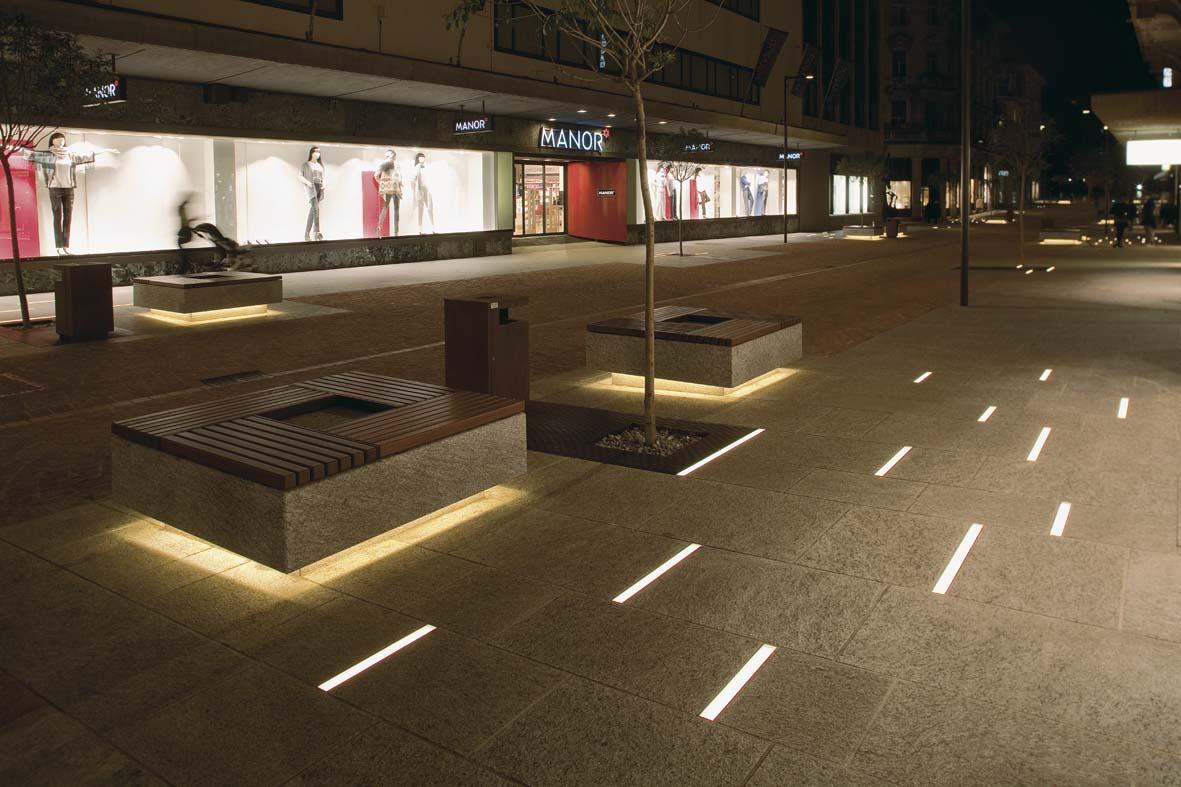 Φωτισμός LED σχεδιασμό φωτισμού Μπελιντσόνα Stefano Dall'Osso 01
