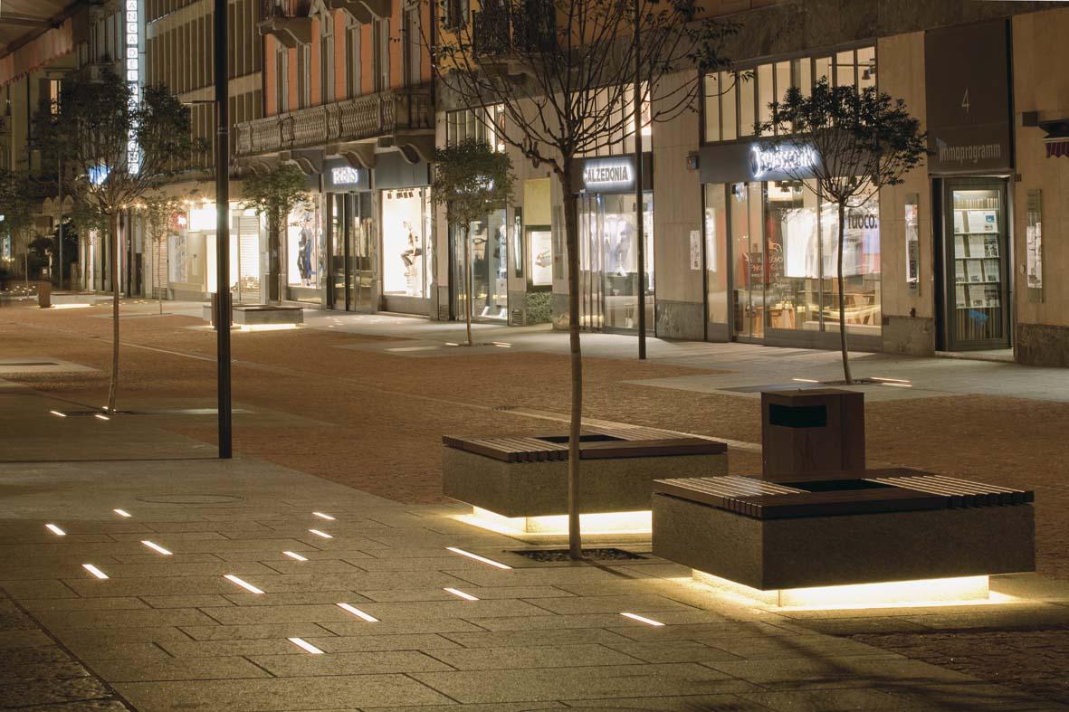 Φωτισμός LED σχεδιασμό φωτισμού Μπελιντσόνα Stefano Dall'Osso 05