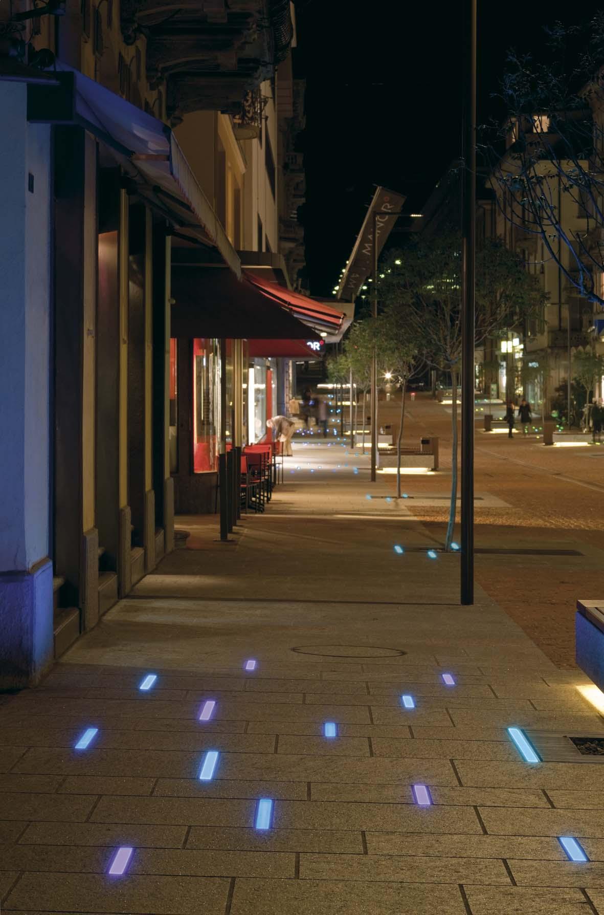 Φωτισμός LED σχεδιασμό φωτισμού Μπελιντσόνα Stefano Dall'Osso 10