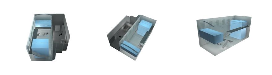 Rada Markovic, lighting design for Massimo Vitali home 15 DIALux 3D renders lighting calculation program