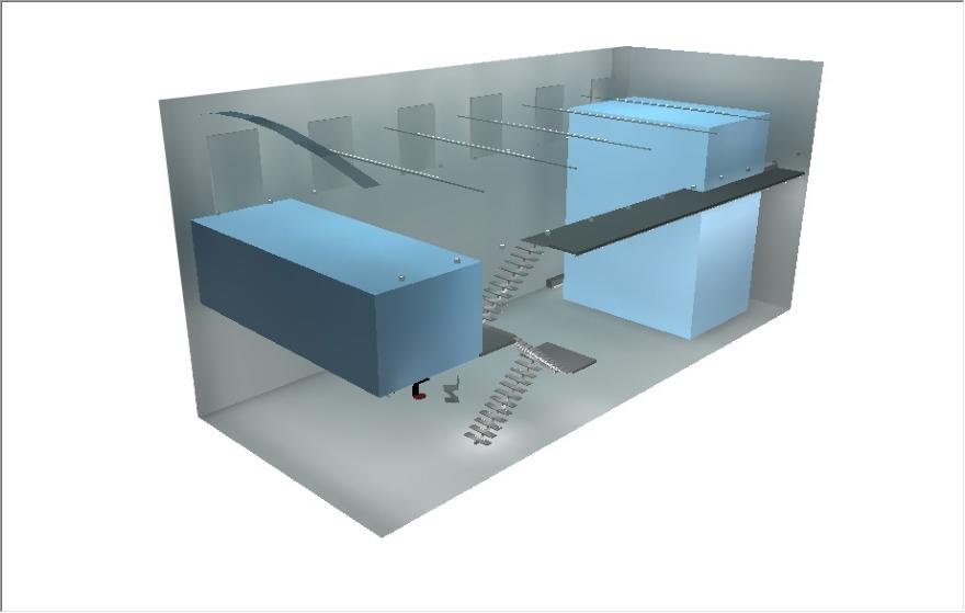 Rada Markovic, diseño de iluminación para Massimo Vitali casa 15C DIALux 3D render