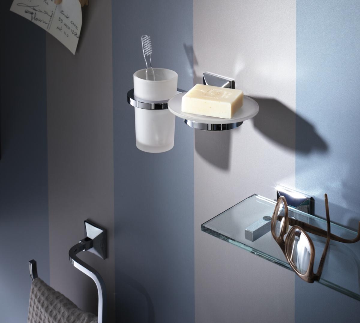 Zubehör moderne und raffinierte Badezimmer, Zahnbürstenhalter, Seifenschale