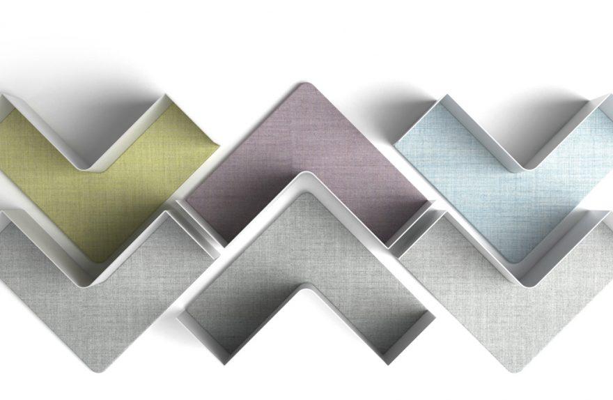 FISHBONE upholstery, design Favaretto & Partners