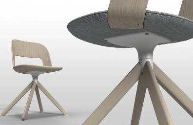Lapalma chair curved wooden arch