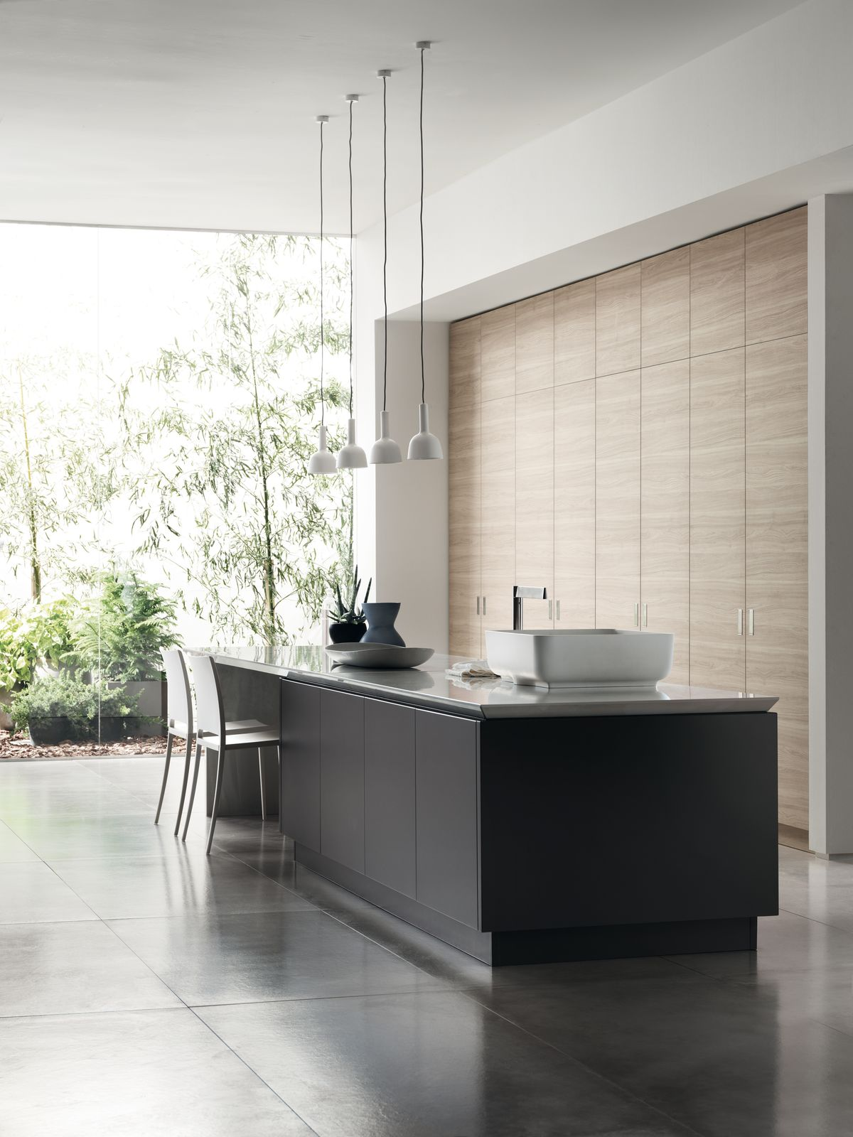 Scavolini kitchen environment Ki collection, design Nendo
