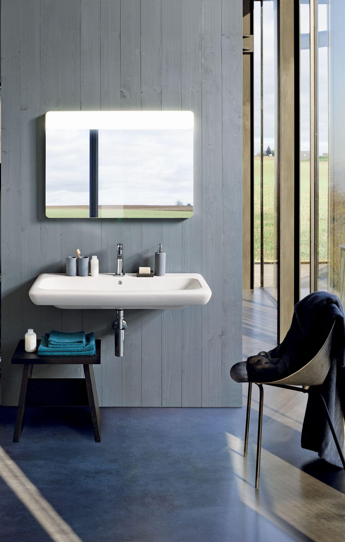 pozos Ginori lavabo y un espejo 100x90 65 rápida