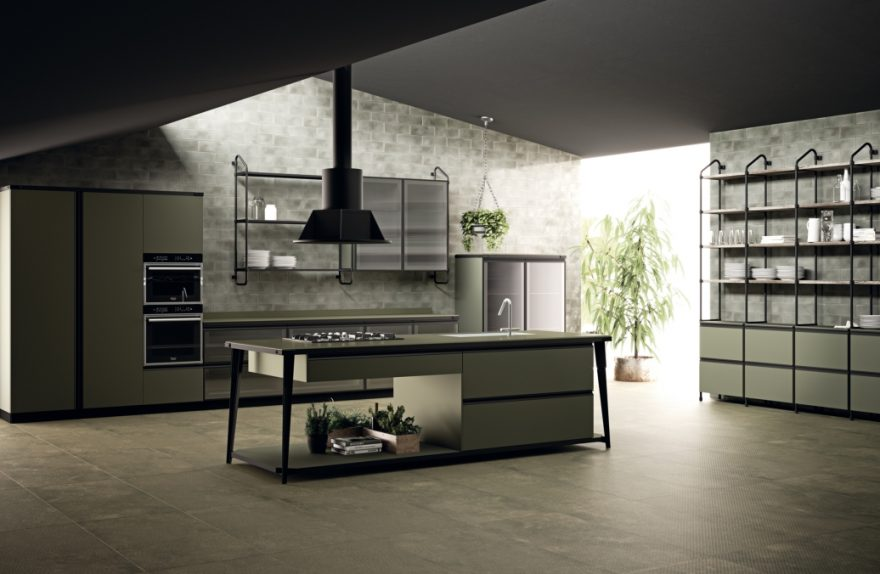 Scavolini and Diesel still together for kitchen and bathroom ...