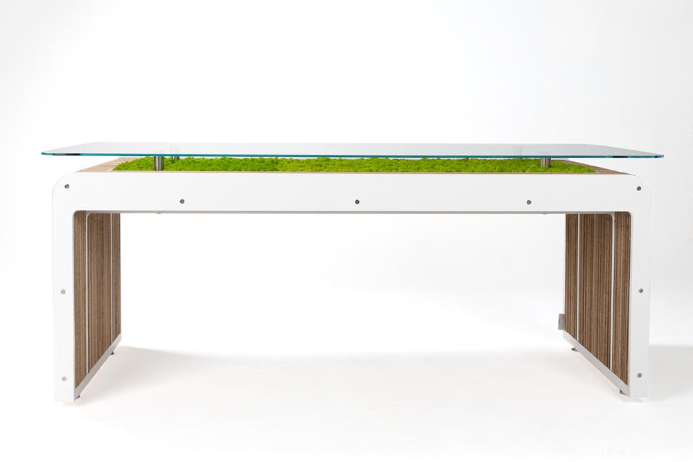 Mehr Desk Plus-leben mit Flechten
