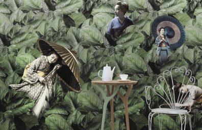 Masami wallpaper Vito Nesta for Texturae
