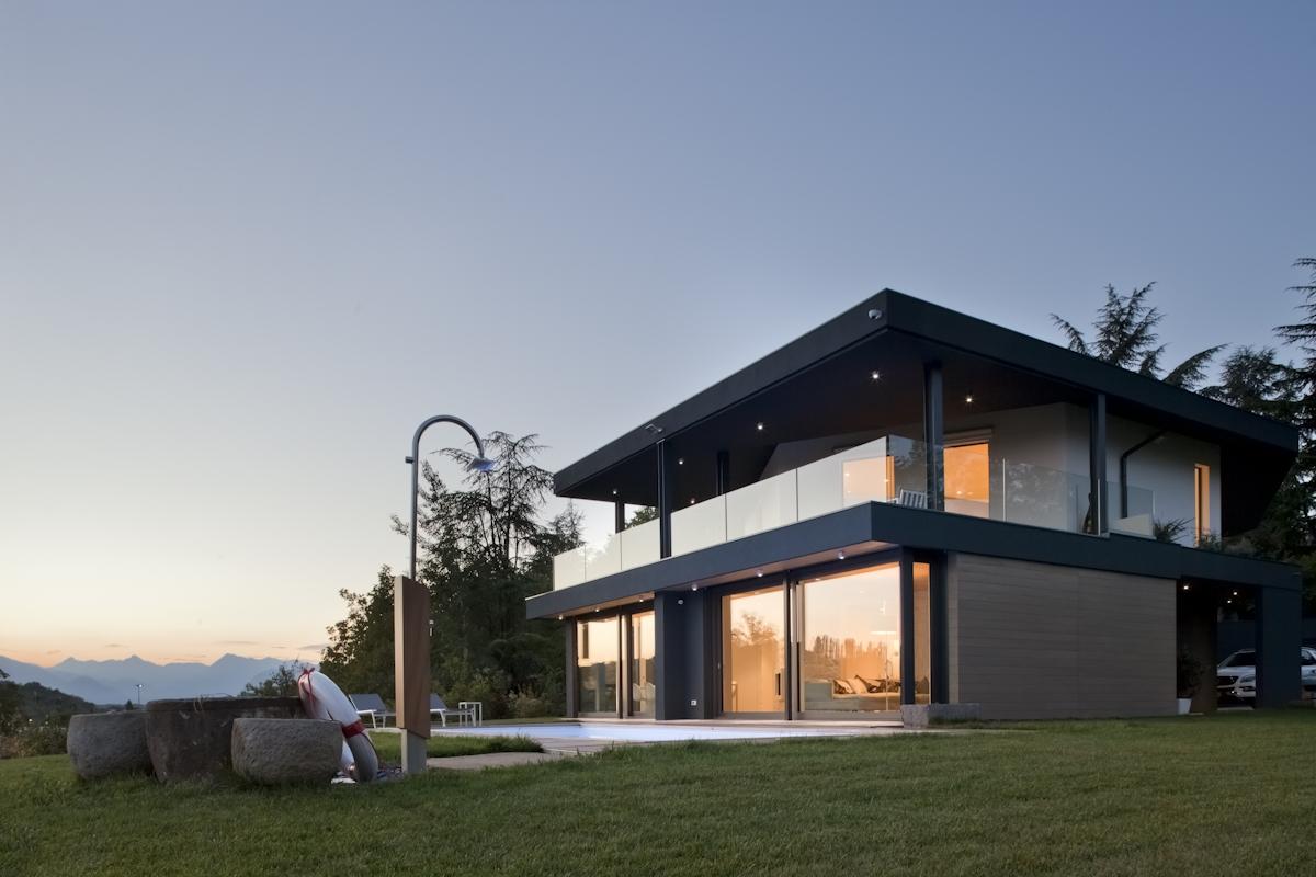 iArchitects - Villa dans les collines à Udine