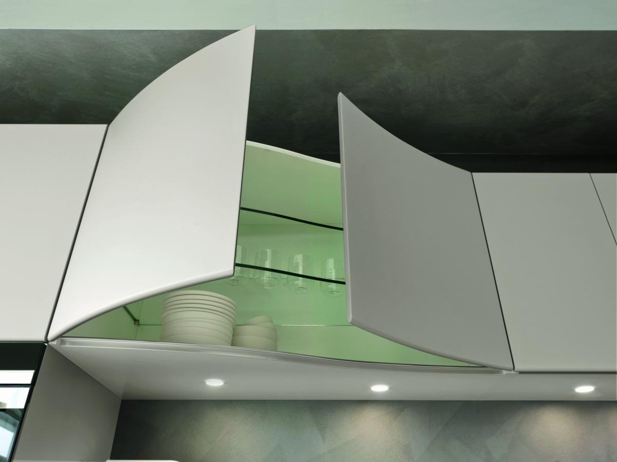 Artica Pedini kitchen with top in Hi-Macs