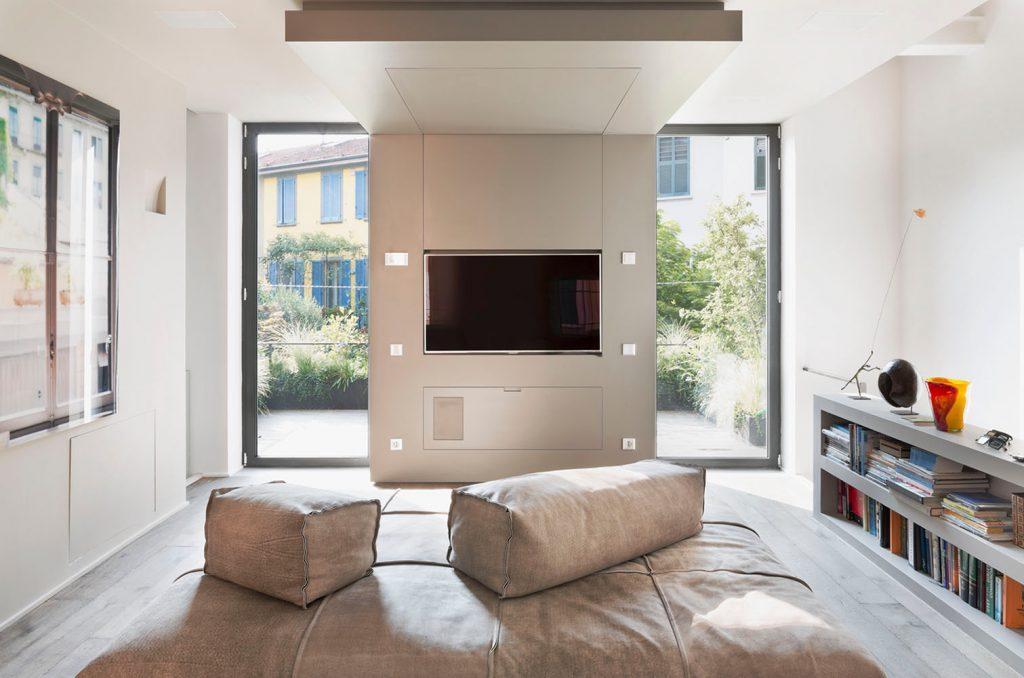 Westway Achitects vertikale Dachboden, Wohnbereich
