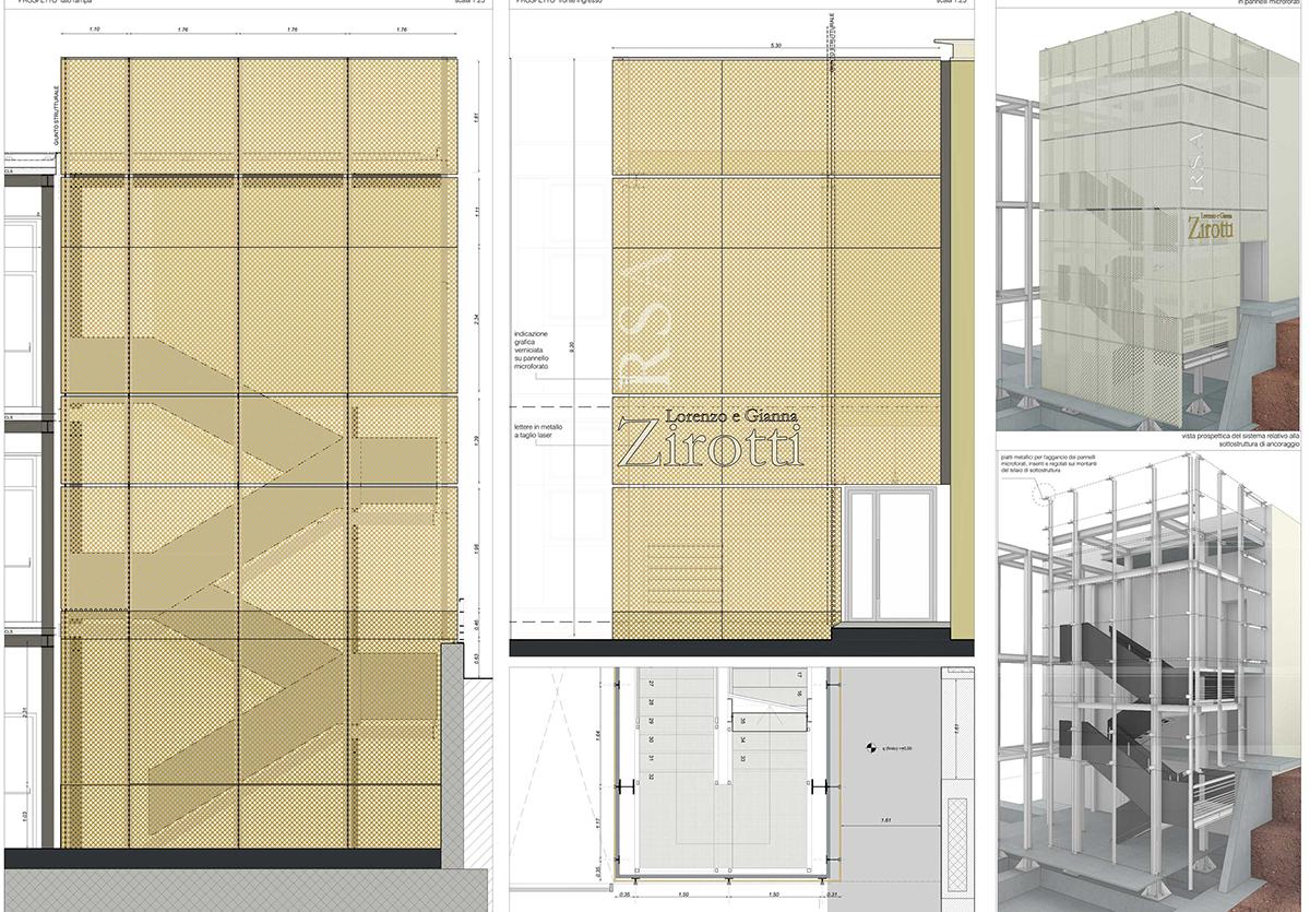 Residenza assistita a Sale Marasino, disegni tecnici, CCDSTUDIO