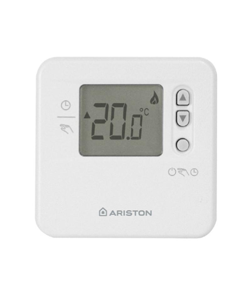 Modulating room thermostat