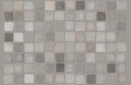 Ceramics concrete effect claymood mosaic craft 60x60 cm