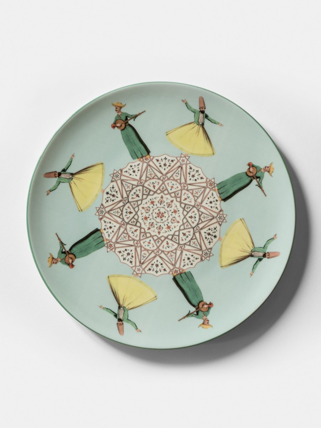 Constantinople, collection of dishes by Vito Nesta, dervishes