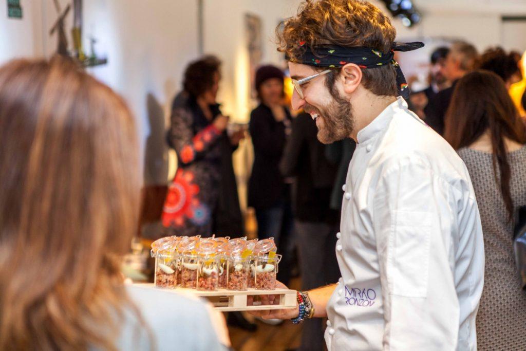 Lancement du concours Infiniti Design - un temps de brunch avec le chef Mirko Ronzoni