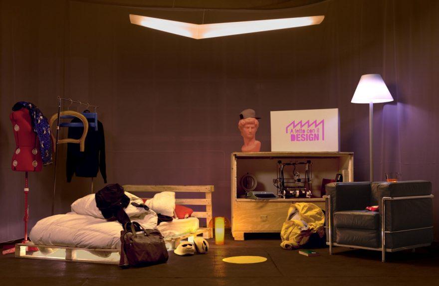 im Bett mit Design Fuorisalone 2017