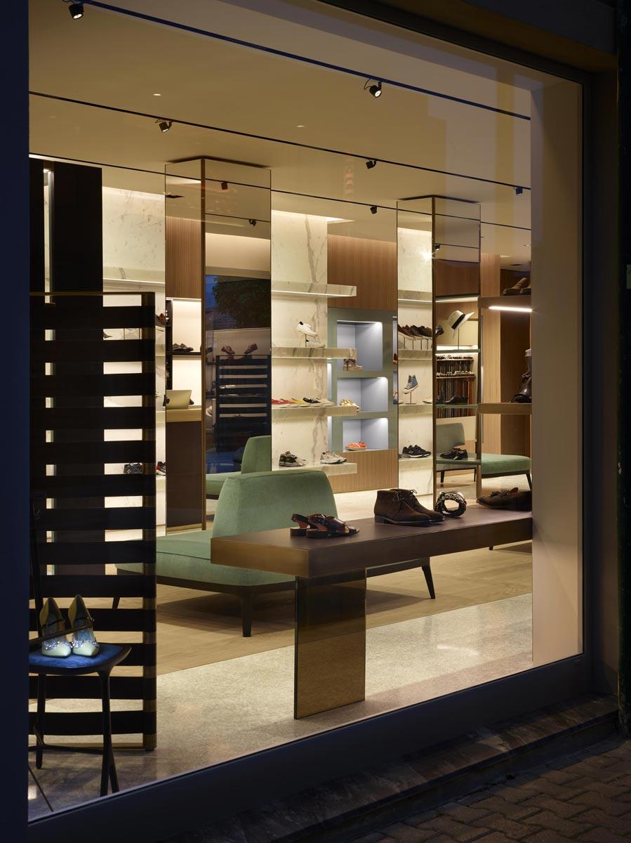 show-room de chaussures Giuseppe Bartoli