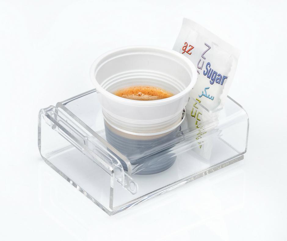 Plexi cup holder