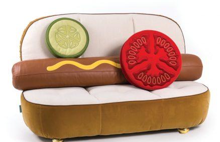 A Limited - Sofá para perros calientes 1