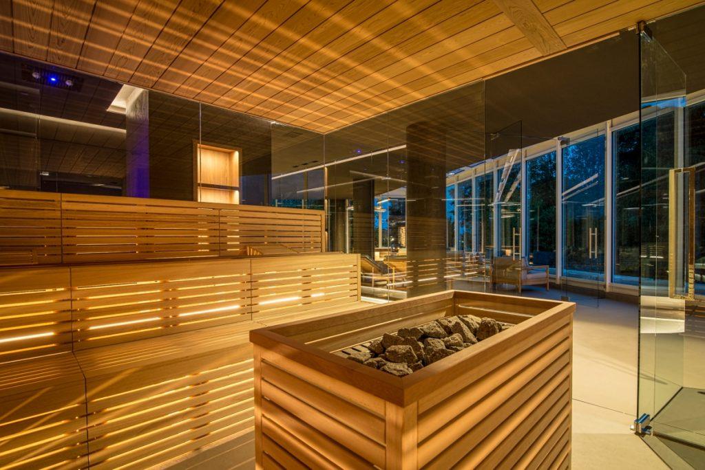 Neró Spa Studio Apostoli, Die Sauna