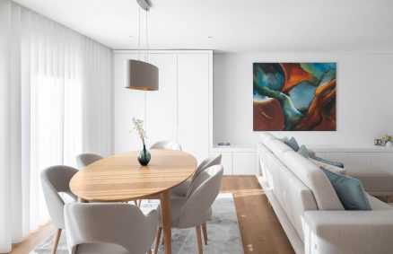 Apartment Maximinios in Braga do Atelier de Arquitectura REM'A