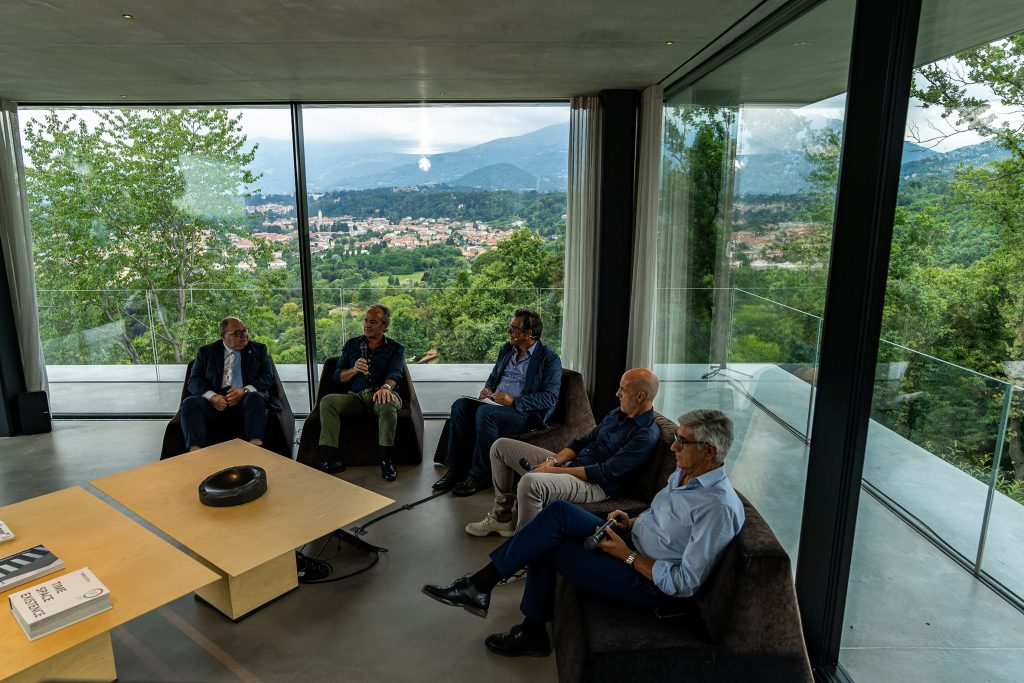 Opening Teca House - Federico Delrosso Architects