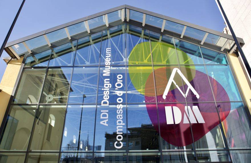 ADI Design Museum Stained Glass Facade