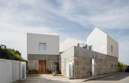 Renovasyon nan yon Farmhouse fin vye granmoun - Casa Rio Paulo Merlini achitèk